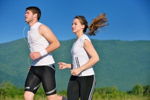 Exercising outdoors can bring on Asthma