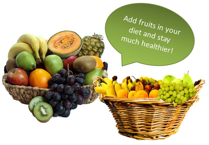 Stay much healthier with fruits