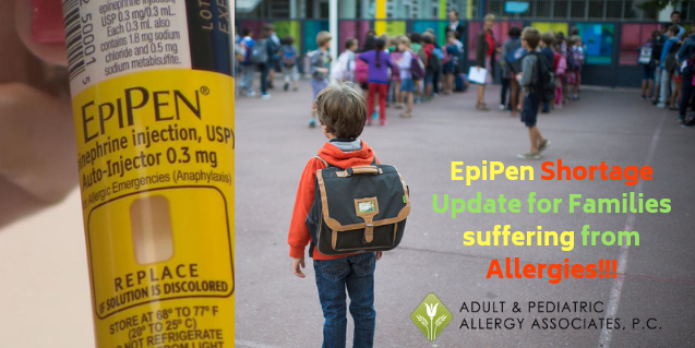 Will the EpiPen Shortage Create a 2018 Back-to-School Challenge for Your Family?
