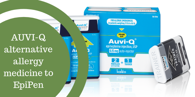 EpiPen Update! Have you heard about AUVI-Q?