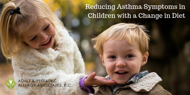 Reducing Asthma Symptoms in Children with a Change in Diet