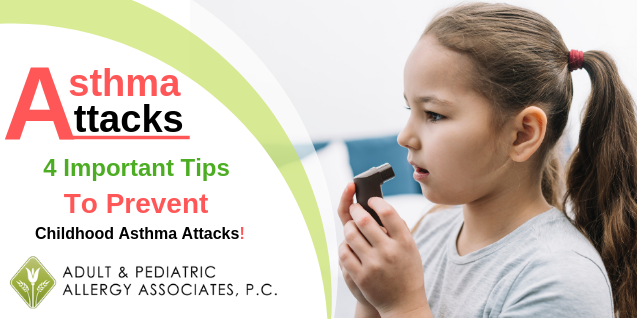 4 Important Tips to Prevent Childhood Asthma Attacks
