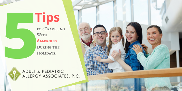 5 Tips for Traveling With Allergies During the Holidays