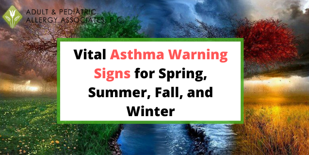 Start off 2020 with a New Awareness for Every Season This Year!: Vital Asthma Warning Signs for Spring, Summer, Fall, and Winter